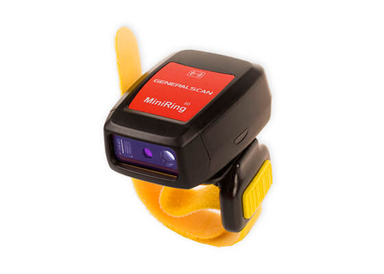 R5000 - Ring Scanner 2D com recarga Wireless e sistema vibratório