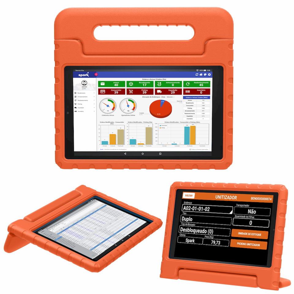 myDESK - Tablet Industrial e Supervisório