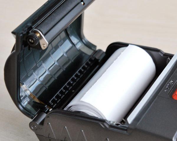 Impressora Zicox XT4131A - Tampa frontal compartimento papel