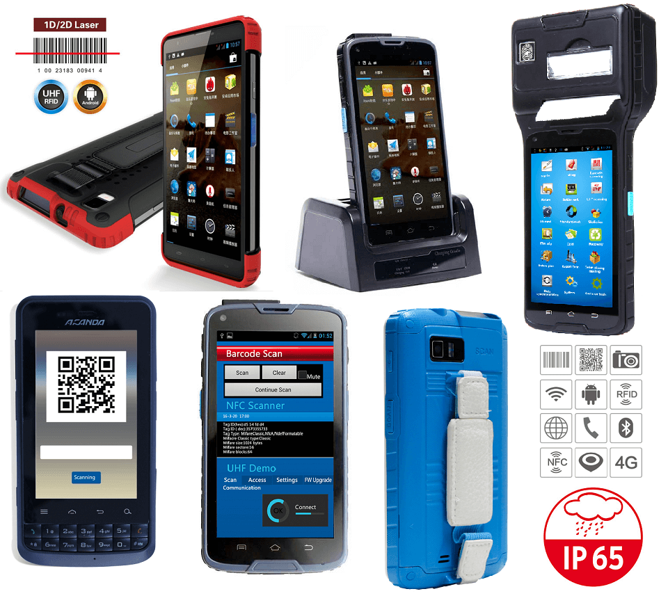 Cilico - Handheld - PDA e Tablets - Rudged (IP65)