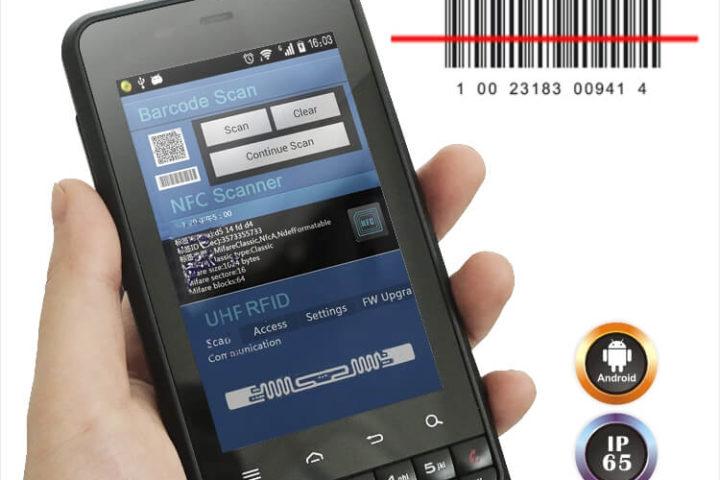 Cilico CM388 - PDA industrial (rudged) IP65 - baixo custo
