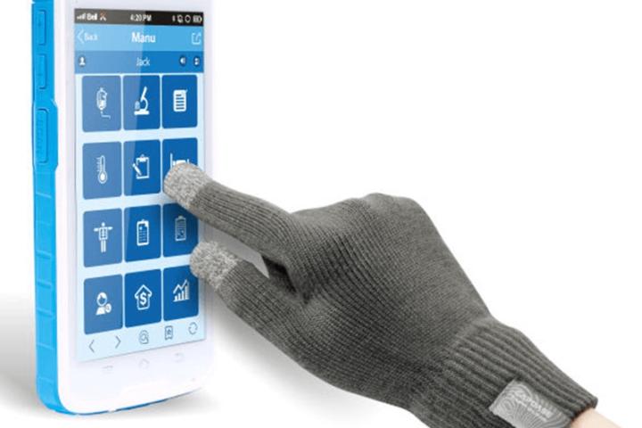 Cilico PDA e Tablet - opera mesmo com luvas
