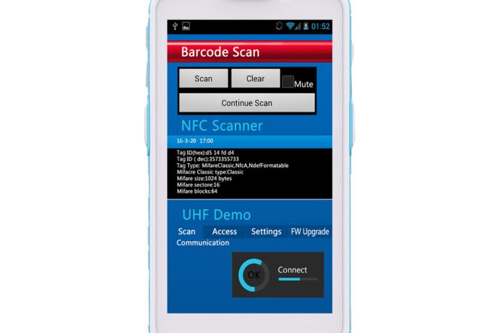 Cilico HC500 - Handheld Hospitalar (Rudged) IP65 - Android 5.1