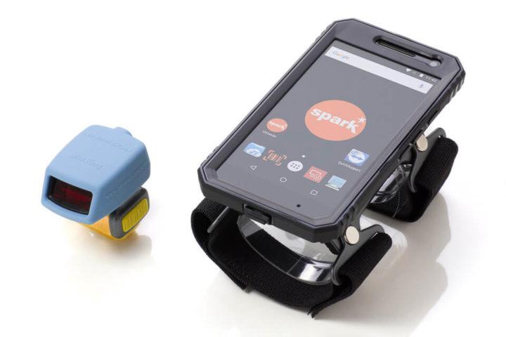 Kit ARM - Leitor em Anel com Armband e Terminal Android vestível (wearable)