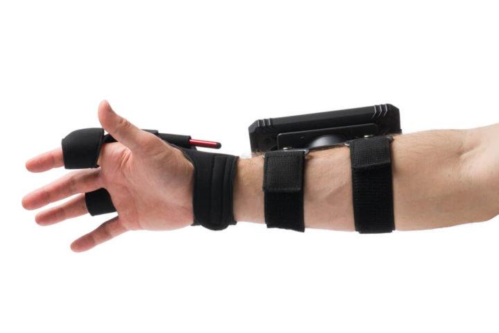 SmartGlove com ARM da Spark - Leitor de Código de Barras vestível
